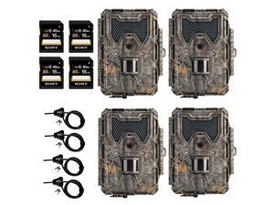 Bushnell 14MP Trophy Cam HD Aggressor Low Glow IR Game Camera (Realtree Xtra)