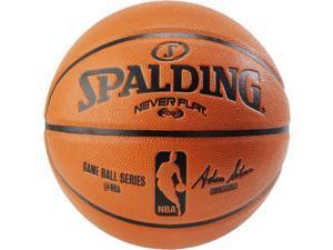 "Spalding NBA Replica Neverflat Composite Basketball - 28.5"""
