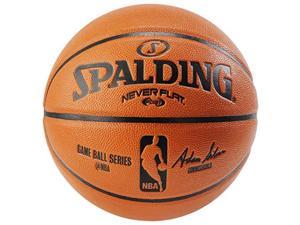 Spalding NBA Replica Neverflat Composite Basketball - 29.5""