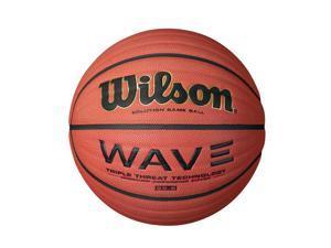 Wilson WTB0601R 28.5-Inch Intermediate Size NCAA Wave Solution Indoor Game Basketball
