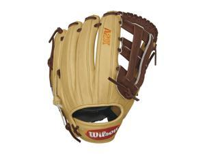 "Wilson 2016 A2K DW5 GM 12"" David Wright Infield Baseball Glove, Blonde/Walnut/Orange (Right Hand Throw)"