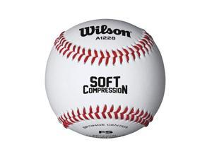 Wilson Minor League and Coach Pitch Play Baseball, 1 Dozen