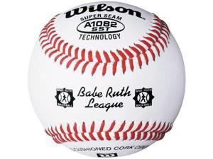 Wilson A1082 Babe Ruth League Tournament Series Baseball 1 Dozen, White