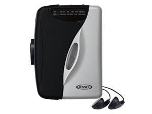 Jensen SCR68B Stereo Cassette Player with AM/FM Radio