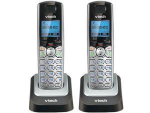 VTech DS6101 2-Line 1.9GHz Extra Cordless Handset / Charger DECT 6.0 2 Pack New
