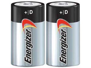 Energizer MAX Alkaline Size D (2-Pack) Alkaline Battery