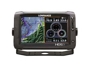 Lowrance HDS-9 Gen2 Touch Insight w/ 83/200 and LSS-2 Transom Mount Transducer