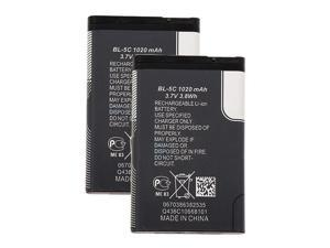 New Replacement Battery for Nokia Lumia 530 ( 2 Pack )