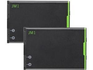 New Replacement Battery for BlackBerry Bold 9900 ( 2 Pack )