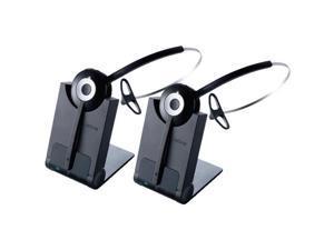 Jabra PRO 920 DECT 6.0 3-In-1 Single Earpiece Headset W/ Noise-Canceling Microphone (2-Pack)