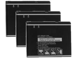 Battery for Pantech PBR-55D (3-Pack) Replacement Battery