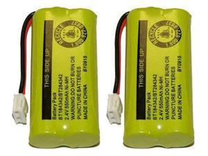 Replacement Battery for VTech Cordless Home Phones 8300 / BATT-6010 / BT18433 / BT184342 / BT28433 / BT284342 / 89-1326-00-00 / CPH-515D ( 2 Pack )