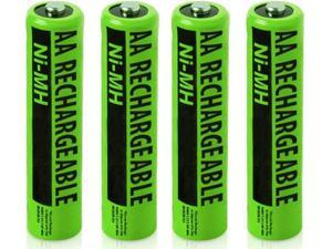 Battery for Panasonic NiMH AA (4-Pack) Replacement Battery