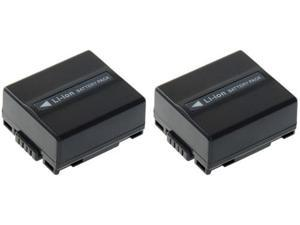 New Relpacement Battery for Panasonic PV-GS250 ( 2 Pack )