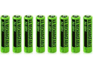 Battery for Panasonic NiMH AA (8-Pack) Replacement Battery