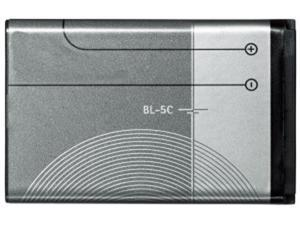 Battery for Nokia BL-5C Replacement Battery