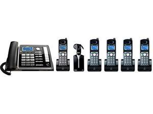GE / RCA 25270RE3 + (4) 25055RE1 Speakerphone W/ 4 Extra Handsets
