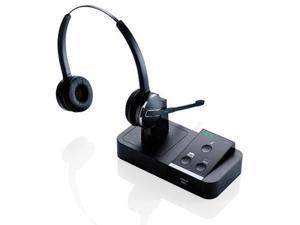 Jabra PRO 9450 Duo Wireless Headset w/ PeakStop Tech & Enhanced Security