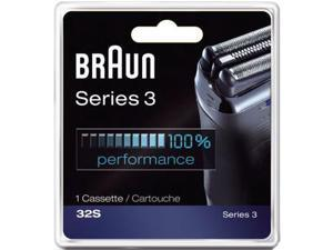 Braun 32S (Single Pack) Series 3 Replacement Foil and Cutter Head Cassette 32B