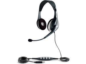 Jabra BIZ 360 UC Duo USB Headset w/ Noise Canceling Microphone