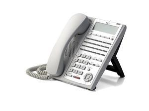 NEC 1100062 (White) Digital 24-Button Telephone