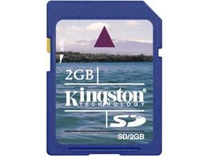Kingston 2GB SD Memory Card 2GB SD Memory Card
