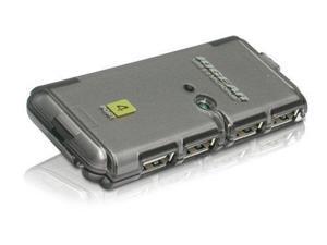 IOGEAR 857494B IOGear 4 Port USB 2.0 MicroHub GUH274