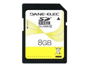 Dane-Elec DEMDASD8192Rb-R Dane-Elec 8 GB Class 4 SDHC Flash Memory Card DA-SD-8192-R