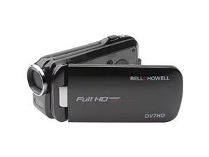 BELL & HOWELL ELBDV7HDBKB Bell+Howell Slice2 DV7HD-BK Full 1080p HD Camcorder with Touchscreen and 60x Zoom with 3-Inch LCD
