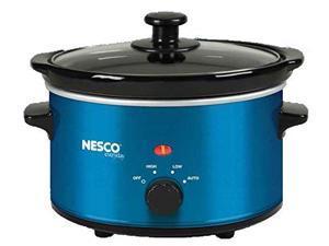 NESCO NESSC150BB Nesco SC-150B Oval Slow Cooker