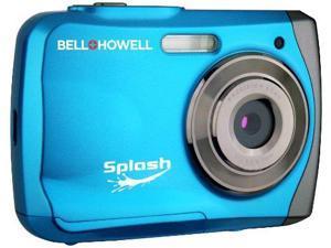 Bell & Howell ELBWP7BLB 12.0 Megapixel Wp7 Splash Waterproof Digital Camera