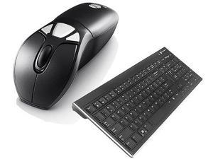 Gyration U77796B Gyration Wireless Air Mouse GO Plus with Full Sized Wireless Keyboard GYM1100FKNA