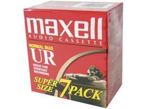 MAXELL MXLUR907PKM Maxell 108575 Normal Bias Audio Tapes 7 Pk