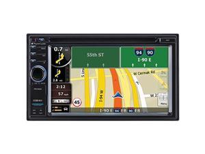 PLANET AUDIO PLTPNV9680B Planet Audio Pnv9680 6.2 Double-din In-dash Navigation Touchscreen Dvd Receiver With Bluetooth