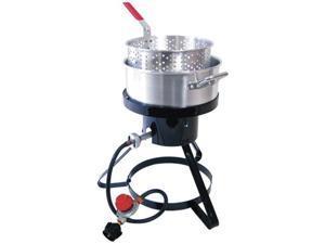 Masterbuilt MASTMB10M Masterbuilt MB10 Outdoor LP Gas 10-quart Fryer and Seafood Kettle
