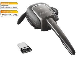 Jabra Supreme UC MS Optimized Bluetooth Headset w/ Noise Canceling Tech & One Touch Vol Control