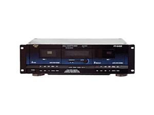 Pyle Audio PYLPT649DB Pyle Dual Cassette Deck