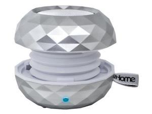 iHome IHMIBT66SCW Rechargeable Bluetooth Color-changing Mini Speaker System