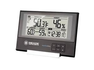 Meade Instruments Corporation MEA-TE256WM Slim Line Station with IN/OUT Temp/Humid