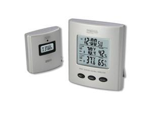 Taylor Digital TAP91756S Springfield 91756 Wireless Thermometer with Indoor/Outdoor Temperature and Humidity