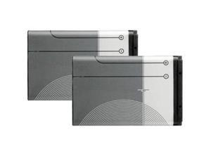 Battery for Nokia BL-6C (2-Pack) Replacement Battery
