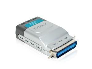 DLINK DP-301P+ D-Link DP-301Pplus 10/100TX 1-Centronic Port Print Server