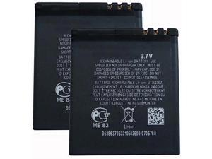 Replacement Battery for Nokia BL-5F (2 Pack)