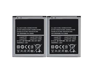 New Replacment Battery for Samsung GALAXY S3 MINI ( 2 Pack )