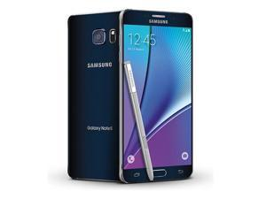 Samsung Galaxy Note 5 32GB / SM-N920G Black International Model Factory Unlocked GSM Mobile Phone