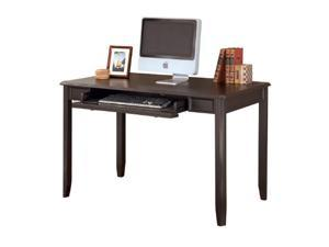 Carlyle Home Office Small Leg Desk Almost Black Carlyle Home Office Small Leg Desk Almost Black