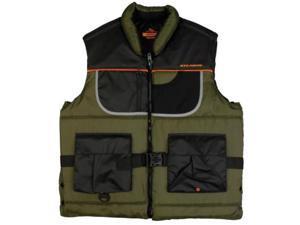Stearns Flotation Rip-Stop Nylon Fishing Life Vest - L Flotation Fishing Vest