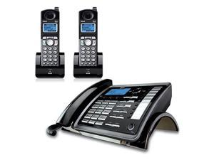 GE/RCA 25255RE2 with 25055RE1 DECT 6.0 2-Line Corded Cordless Phone System