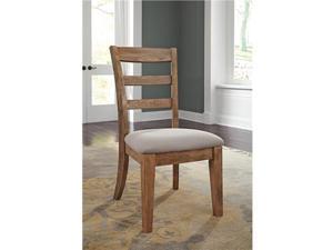 Danimore Light Brown-Light Gray Dining UPH Side Chair D473-01 - Set Of 2 Danimore Light Brown-Light Gray Dining UPH Side Chair - Set Of 2