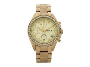 ES2683P Decker Chronograph Gold-Tone Stainless Steel Watch - 1 Pc Watch